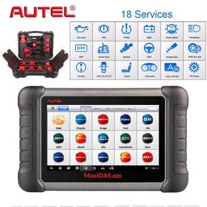 Image 1 - Сканер Autel Maxidas DS808K OBD2, автомобильный диагностический инструмент, функции сканера EPB/DPF/SAS/TMPS лучше, чем Launch X431