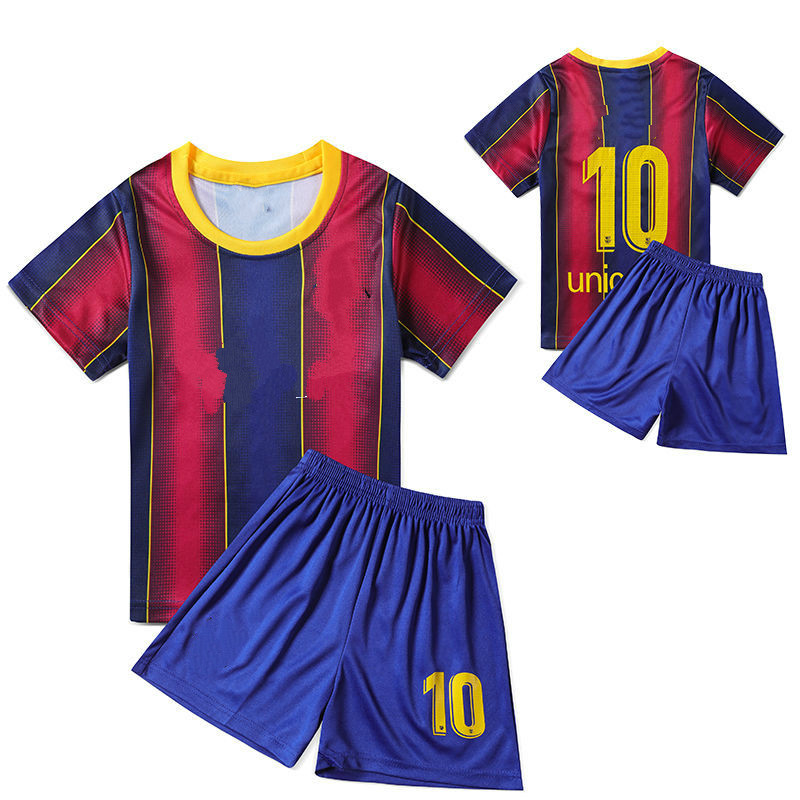 Fashion World Cup Children's Football Suit For Middle And Large Children's Clothing For Boy Baby's Jersey For Suit Boys Sports 2