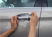 High Quality Car TPU Door Handle Cover Film Sticker Protective For KIA RIO 4 KX CROSS K3 K2 K5 KX5 KX3 Sorento Sportage Forte