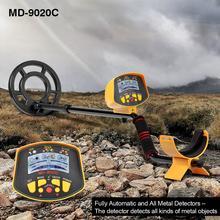 Détecteur professionnel de métaux souterrains, détecteur de métaux souterrains, détecteur de métaux, écran LCD, haute sensibilité, recherche dor et de trésors, MD9020C