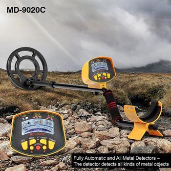 Professional Underground Metal Detector MD9020C metal-detector High Sensitivity LCD Display Treasure Gold Hunter Finder Scanner smart sensor ar944m under ground metal detector scanner finder