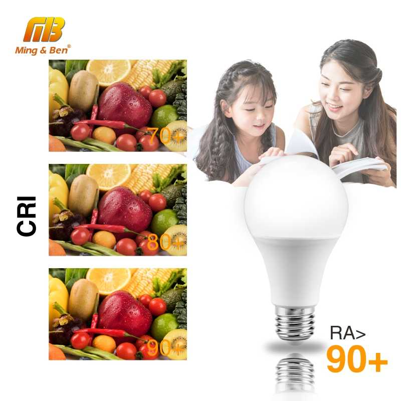 10 Pcs Lampu LED Bulb Tidak Ada Flicker Perlindungan Mata E27 AC220V 3W 6W 9W 12W 15W 18W 22W LED Light Bulb Lampada