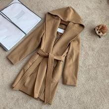 107430 classic women autumn winter extra long jacket vintage lady coat