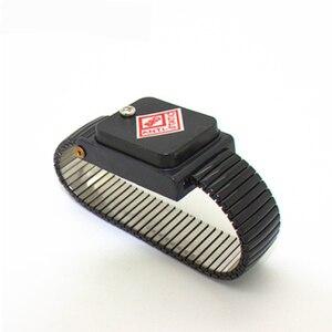 Image 3 - Cordless Bracelet Metal Antistatic Wireless Anti Static ESD Wristband Discharge Electronic Work Anti static Wrist Band Strap