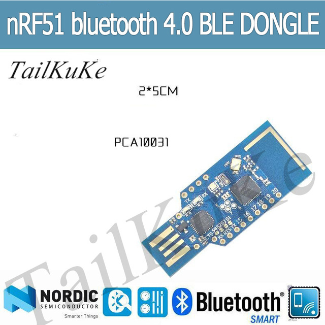 NRF51 DA14583 Bluetooth 4.0 4.1 BLE Adapter DONGLE Sniffer Protocol Analyzer