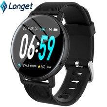 Longet H5 Fitness Tracker Smart Bracelet HD Color Touch Screen Blood Pressure Heart Rate ActivityTracker Smart Band Fashion Men