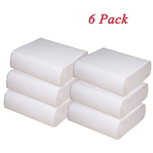 6 Pack Hand Towels Party Paper 150 Sheet/Pack Premium Elegant Napkins Feel Bathroom Guest Napkin