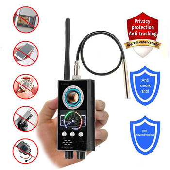 IR Laser RF Detector T9000 Anti Spy Cam Hidden Camera Scanner WiFi Signal GPS GSM Radio Phone Tracker Finder Private Security 1