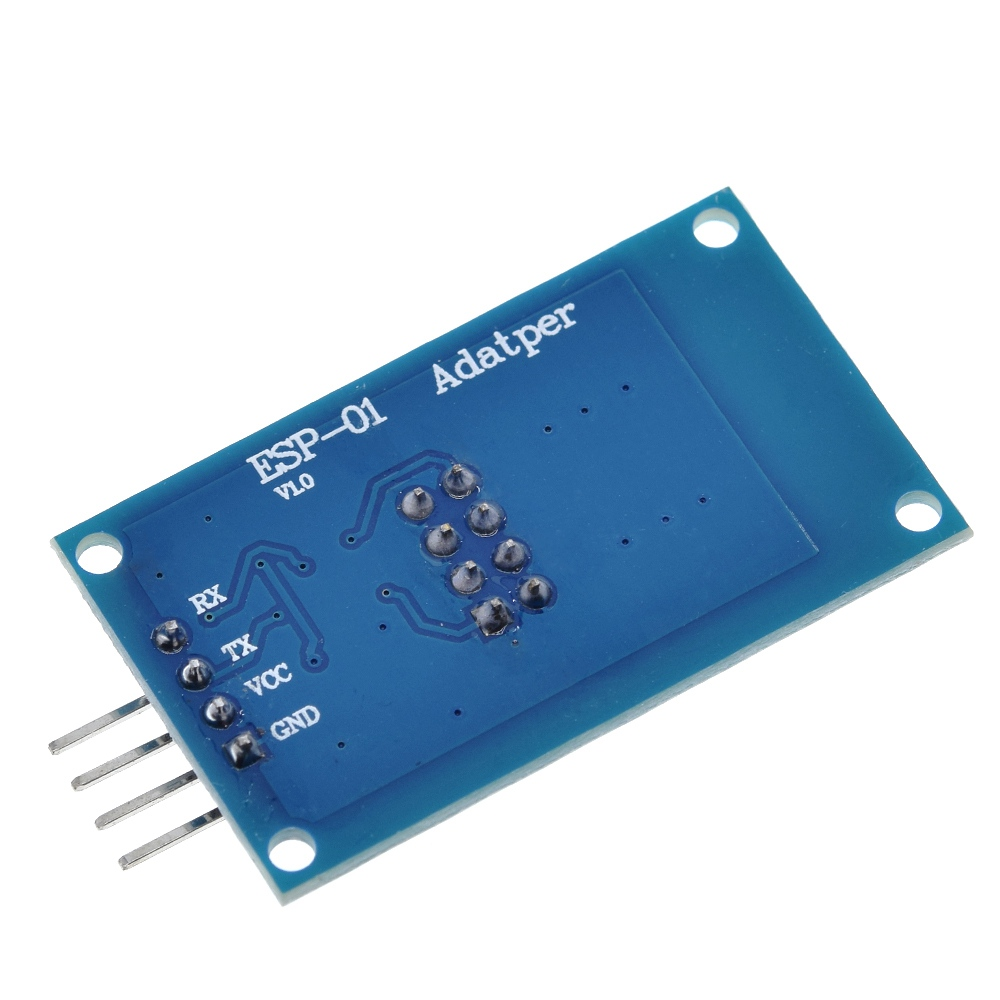 Image 4 - TZT ESP8266 ESP 01 Serial WiFi Wireless Adapter Module 3.3V 5V Esp01 Breakout PCB Adapters Compatible For Arduino-in Integrated Circuits from Electronic Components & Supplies