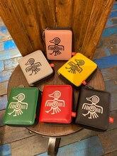 Orabird جلد طبيعي المرأة قصيرة محافظ حامل بطاقة محفظة لطيف السيدات الفاخرة محفظة صغيرة للبطاقات حقيبة المال 2019