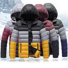 Men Casual Thick Outwear Coat Men Winter Warm Hooded Softshell For Windproof Soft Coat Shell Jacket 2020 New Winter Jacket Men