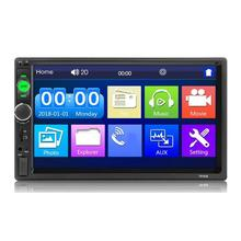 Multimedia-Player Autoradio Audio Car-Stereo Wireless 2-Din High-Definition Touch-Screen