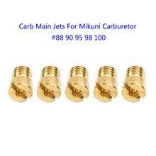 10 Pcs Main Jets For Mikuni Carburetor VM22 VM24 VM26 125cc 150cc 200cc 250cc UK