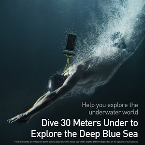 Image 2 - Baseus עמיד למים טלפון מקרה עבור iPhone 11 פרו מקס לשחות פאוץ תיק מקרה IPX8 אוניברסלי כיסוי עבור Samsung S20 להיסחף צלילה גלישה