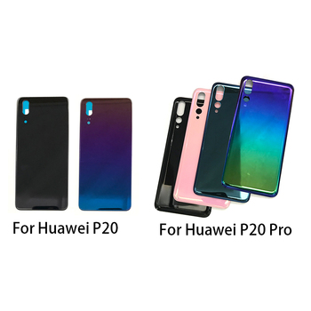 Back Glass Rear Cover For Huawei P20 Pro Battery Door Housing Battery back cover With Adhesive Sticker цена 2017