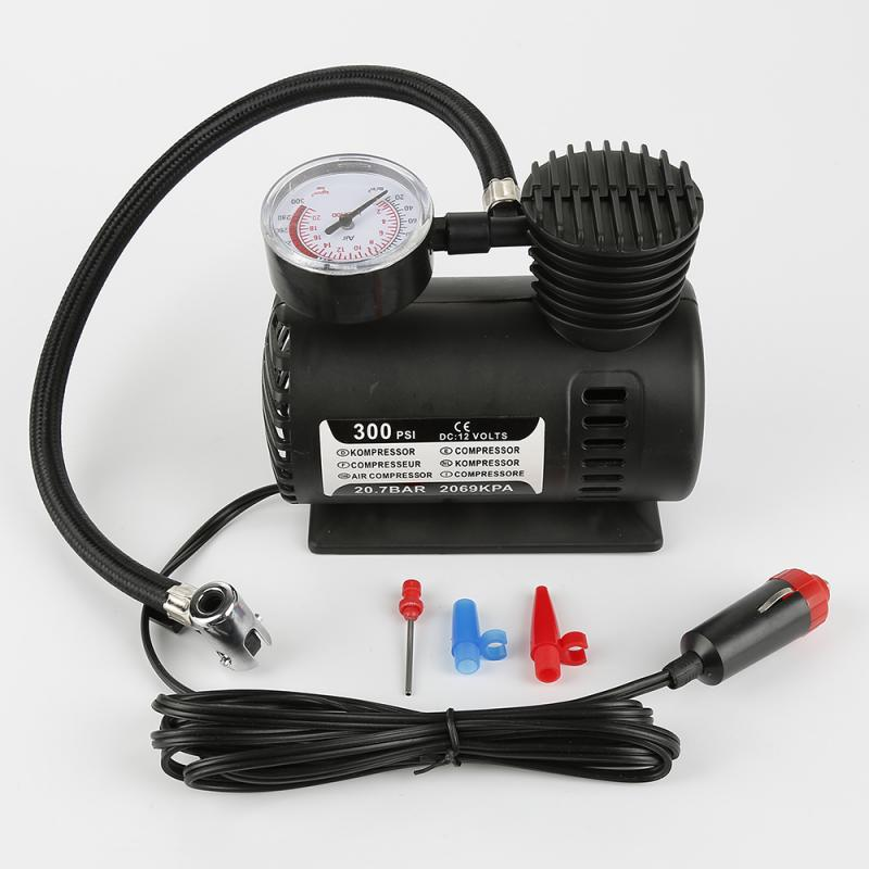 Автомобильный портативный мини-воздушный компрессор 300psi C300 12 В, Автомобильный Электрический воздушный насос для шин, автомобильные аксесс...