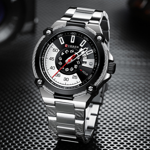 Image 5 - CURREN Design Watches Mens Watch Quartz Clock Male Fashion Stainless Steel Wristwatch with Auto Date Causal Business New Watch