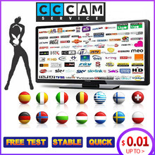 1 anno Europa Clines Server Per La Spagna Portogallo Germania Polonia Supporto Freesat V7 V8 DVB-S2 Recettore Ricevitore TV Satellitare(China)