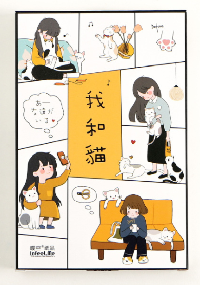 Cat Me Paper Postcard(1pack=30pieces)