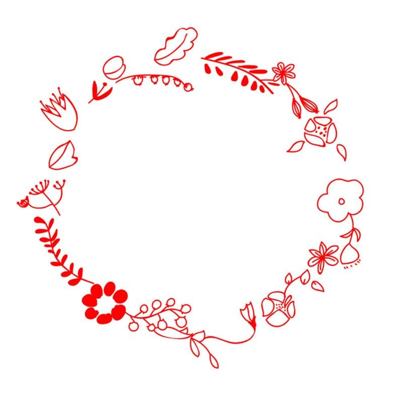 DiyArts Flower Leaves Dies Wreath Metal Cutting Dies New 2019 for Card Making Scrapbooking Embossing Cuts Stencil Craft Dies in Cutting Dies from Home Garden