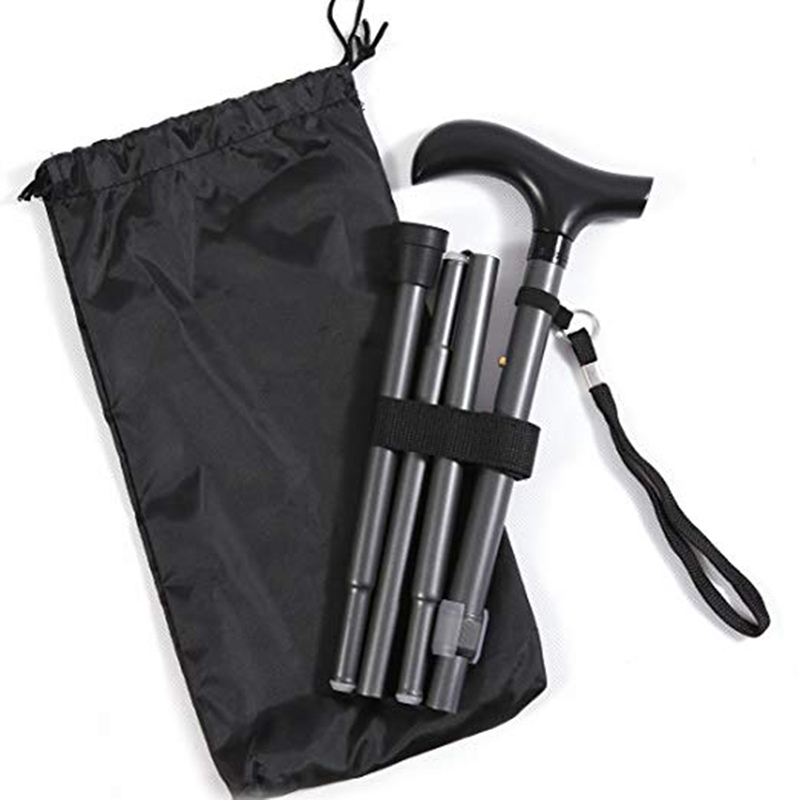 Outdoor Sports Bag Walking Camping Sticks Carrying Pouch Case Folding Cane Storage Bags Durable Holder Bag With Drawstring