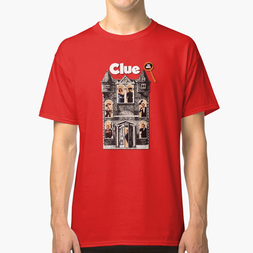 Clue: The Movie T shirt clue tim curry 1980s eighties nineties eighties movies retro murder murder mystery paper moon image
