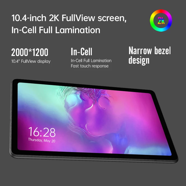 [Newest]ALLDOCUBE iPlay 40 Pro 10.4'' Tablet Android 11 2K 2000x1200 FHD 8GB RAM 256GB ROM UNISOC T618 OctaCore 4G LTE Dual Wifi 3