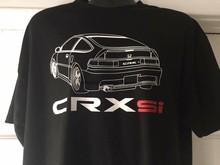 88-91 Crx SI Camisa EF8 88 89 90 91 JDM CRX EDM EF7 EF-8 EF-7 EF Raro