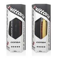 Vittoria corsa g + competição grafeno 2.0 700x25 preto tan 320 tpi pneus de corrida