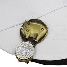Zodiac Golf Cap Magnetic Absorption Innovative Hat Clip Accessories U3N9