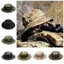 Военная тактическая Кепка, Мужская камуфляжная кепка для защиты от солнца, Кепка для пейнтбола, страйкбола, армии, тренировок, рыбалки, охот...