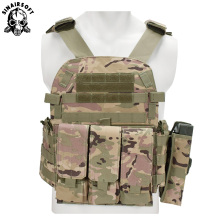 Tactical Vest Molle Combat Assault Plate Carrier Plate Carrier Airsoft Military CS Outdoor Clothing Hunting Vest жилет армейский no molle cs