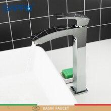 GAPPOสูงอ่างล้างหน้าก๊อกน้ำทองเหลืองห้องน้ำอ่างล้างจานก๊อกน้ำผสมDeck Mounted Bath Tapน้ำตกก๊อกน้ำก๊อกน้ำTorneira Do Anheiro