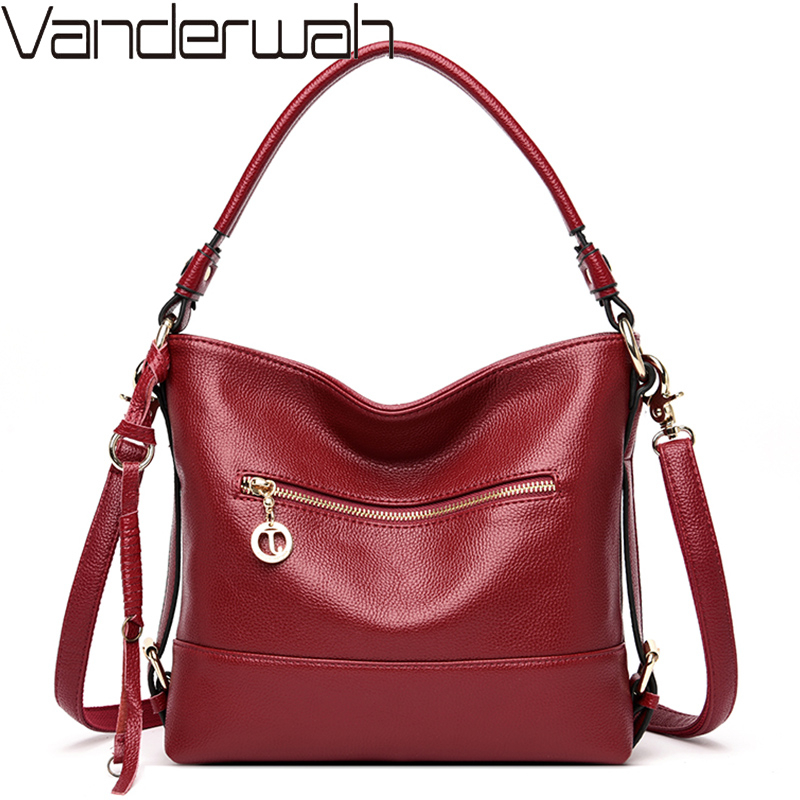 Crossbody Bags For Women Designer Soft Leather Handbags High Quality Ladies Hand Bags Female Shoulder Messenger Bag Sac A Main