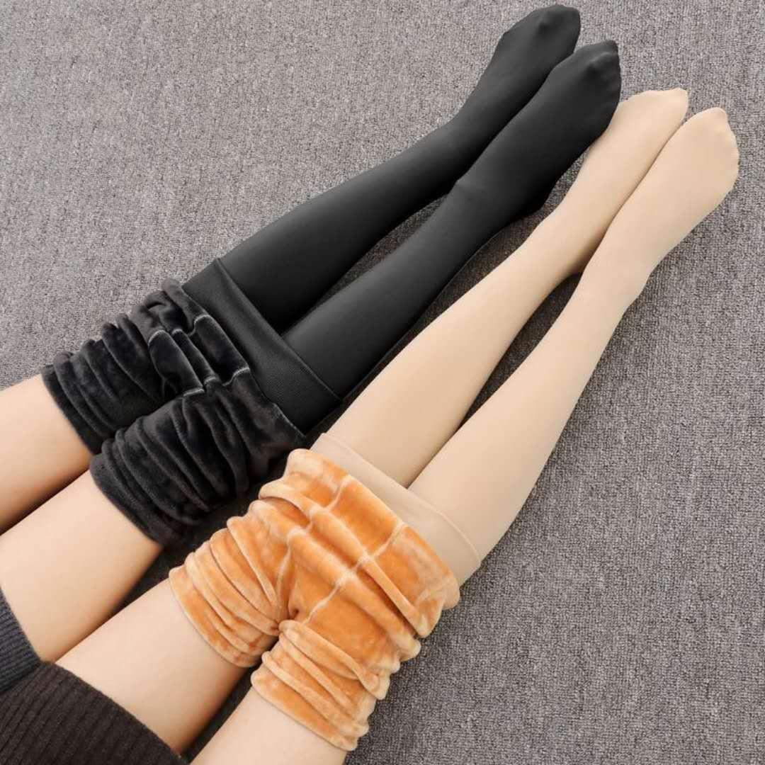 New arrival Women's Candy Colors Women Pants Plus Velvet Thick Warm Leggings Ladies Pants Winter Super Elastic Women Leggings
