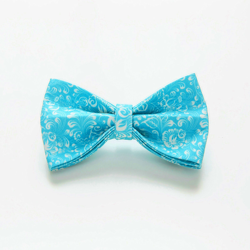 Printed Dog Neck Ring Bow Pet With Supplies Pet Collar Accessories Bow Dog Chain Bowtie