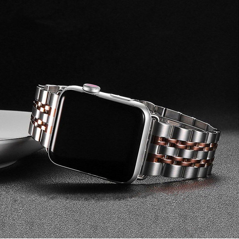 Stainless Steel Strap For Apple Watch 5 Band 44mm 40mm IWatch Band 42mm 38mm Luxury Metal Watchband Bracelet Apple Watch 4 3 2 1
