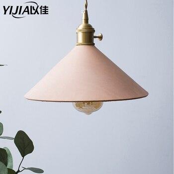 Nordic retro brass pendant light loft lamp head lamp head light modern art deco lightings bedside lamp kitchen e27 lampholder
