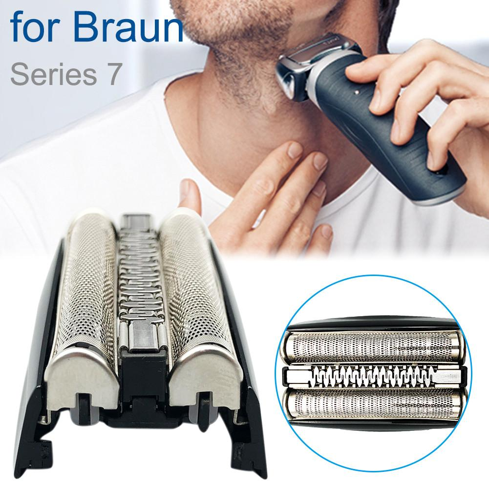Electric Razor Replacement Head Foil Screen + Frame For BRAUN Shaver 70B 70S 7 Series Accessory