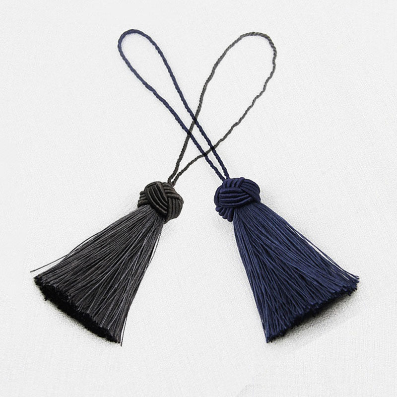2Pcs/Lots Tassel Hanging Rope Tassel for Sewing Clothing Curtain Fringe Home Decoration Craft Room Accessories Hanging Ball DIY