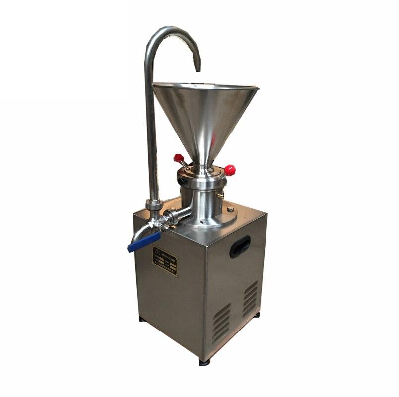 JMC 60 stainless steel peanut butter sesame process machine/homogenizer colloid mill