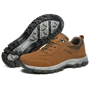 Image 5 - Hiking Camping Outdoor Shoes Men Breathable Climbing Trekking Mountain Boots Mens Fishing Hunting Sport Sneakers Shoe Plus Size