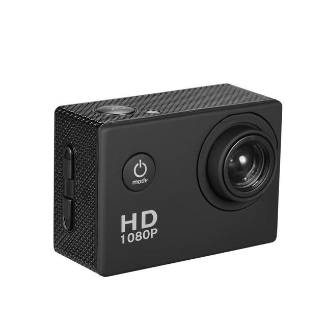 Mini Camera Action Camera 2inch LCD Sport Camera 1280x960P HD 1080P Digital Zoom Diving 30m 90 Angle Lens Sports Action Camera