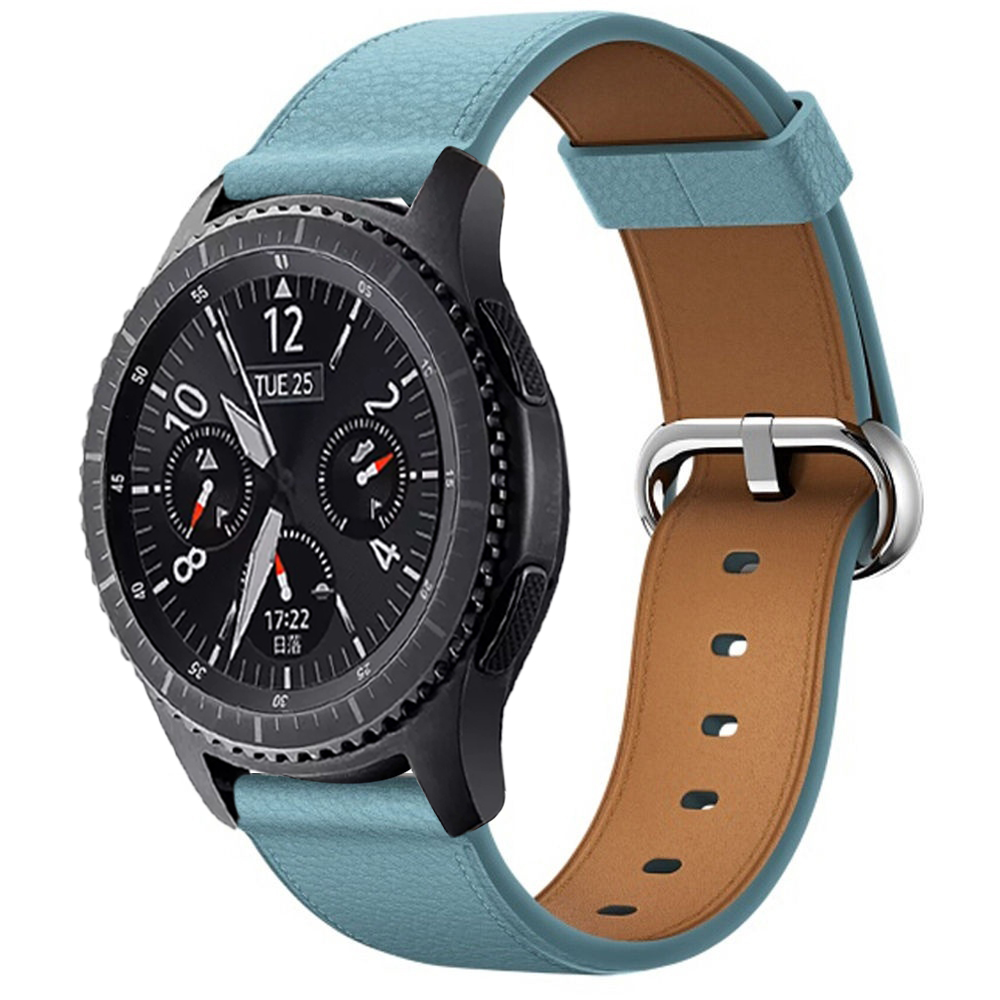 Watch band For Samsung Gear S3 Band black brown Frontier Strap Classic galaxy watch active 46mm