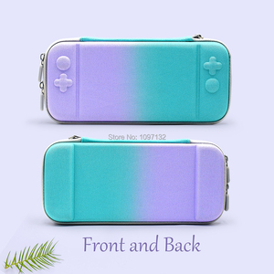 Image 3 - Portable Hard Shell Bag Case for Nintend Switch Lite Temeperd Glass Screen Protector for Nintendo Switch Lite Accessories