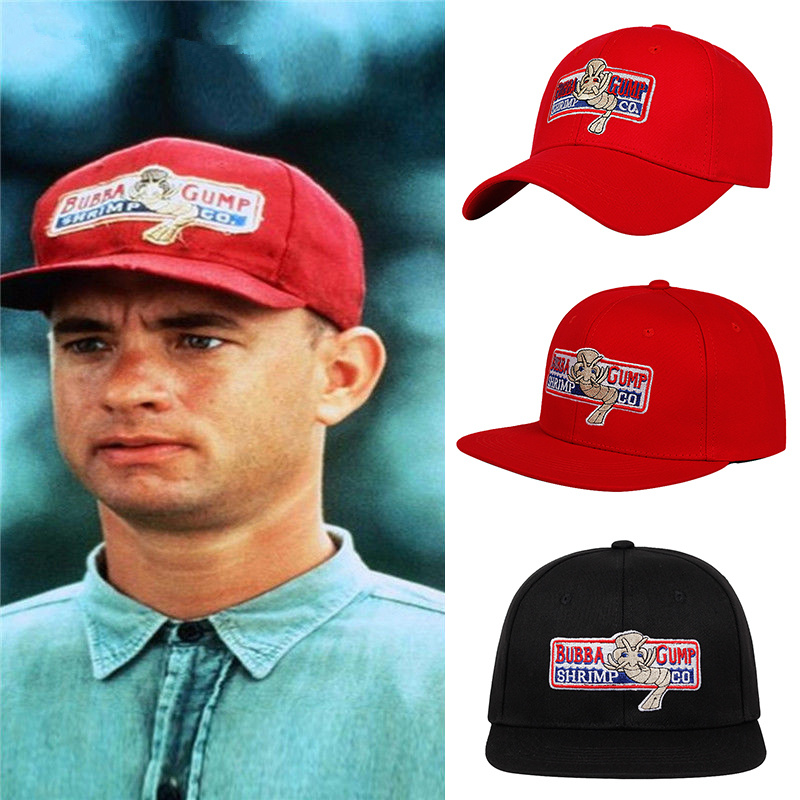 Fashion Curtural Baseball Cap Men Women Adjustable Cotton Embroidery Gump Dad Hat Forrest Trucker Snapback Caps Casquette Homme
