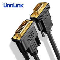 Ugreen activo adaptador DVI a VGA FHD 1080P @ 60 DVI-D 24 + 1 a VGA Adaptador convertidor Digital cable para ordenador portátil PC Host tarjeta de gráficos