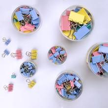 Black/Colorful Metal Binder Clips Paper Clip 15mm 19mm 25mm