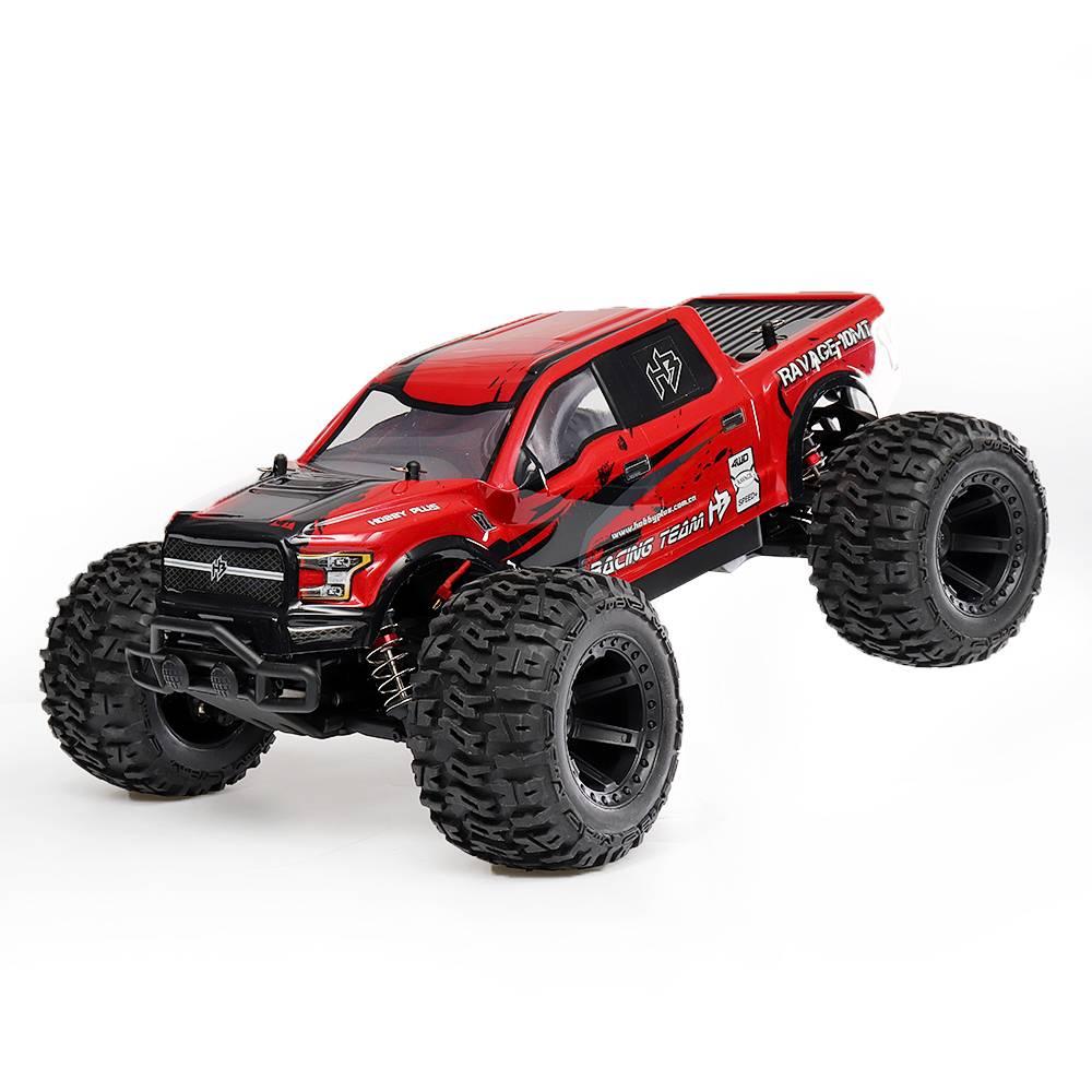 HB Toys 161010 1/10 2.4G 4WD 7.4V 2S 2500 Battery Brushed 3300KV Motor 3300KV RC Car Electric Off-Road Crawler RTR Model