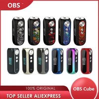 Original OBS Cube VW Box MOD w/ 3000mAh Battery Max 80W Output & Instant 0.01s Firing Speed Vape Box Mod Vs Ijust 3 / Gen3 Dual
